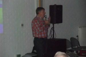 Spreker Eric Decabooter aan het woord.