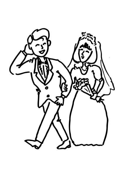André en Marie-Claire, vroeger