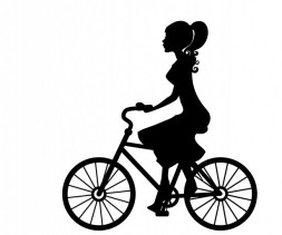 woman-cyclist-black-silhouette[1]